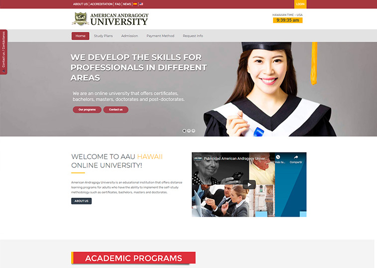 american-andragogy-university