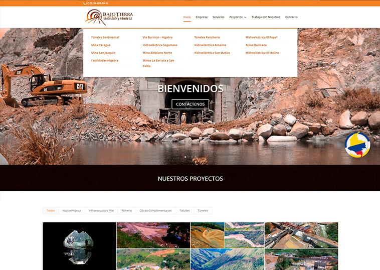 bajo-tierra-diseño-web