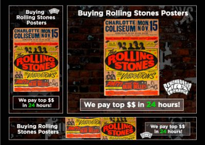 Buying Rolling Stones Campaña Adwords