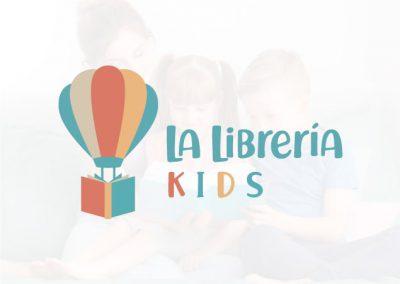 La Librería  Kids  Logotipo