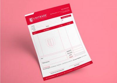 Unitrade Diseño de Factura