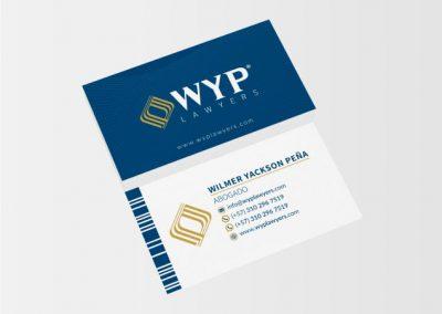 Tarjetas WYP